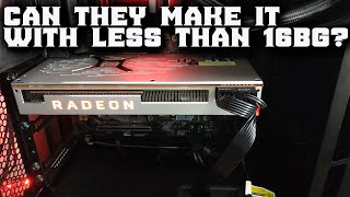 Radeon vii unboxing and could they do a cheaper one ??