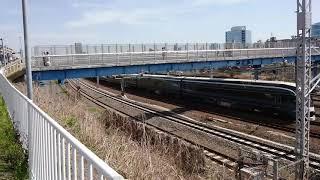 E261系オオRS-2編成 サフイール踊り子号伊豆急下田行き 川崎~横浜間にて