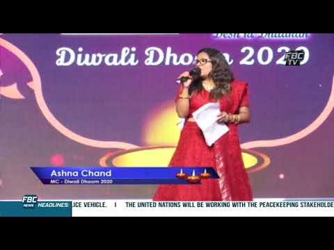 Monish Sharma Hosting Diwali Dhoom - FBC , Radio Fiji 2 and Mirchi Fm