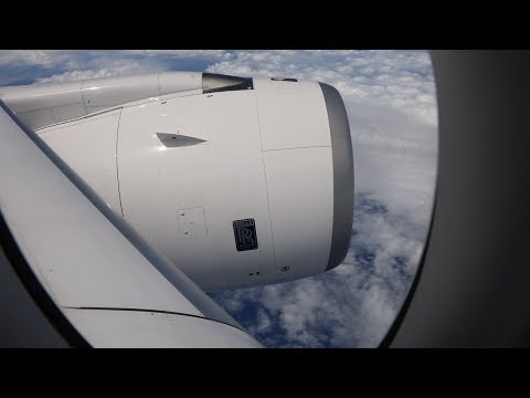 Airbus A350 -1000  Test Aircraft Visits Auckland New Zealand 2018