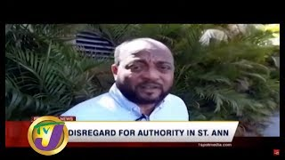 TVJ News Today: Truck Drivers Disregard for Authority in St. Ann - July 28 2019