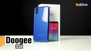Doogee X50 на Android Go — смартфон вместо «звонилки»