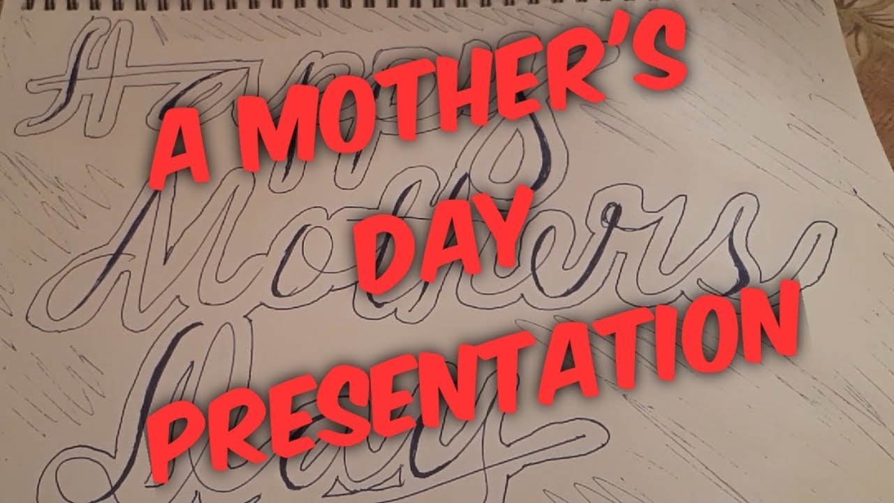 Mother's Day Presentation #mothersday