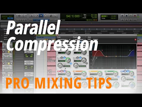 Pro Mixing Tips: Parallel Compression