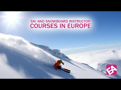 Ski and Snowboard Instructor Courses in Europe