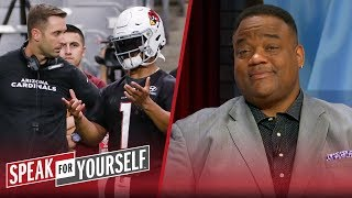Resistance to Kingsbury will hinder the growth of Kyler Murray - Whitlock | NFL | SPEAK FOR YOURSELF