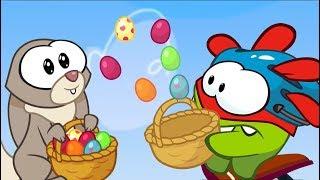 Om Nom Stories - Super-Noms: Easter Bunny - (Cut the rope) New season 8 - Kedoo ToonsTV