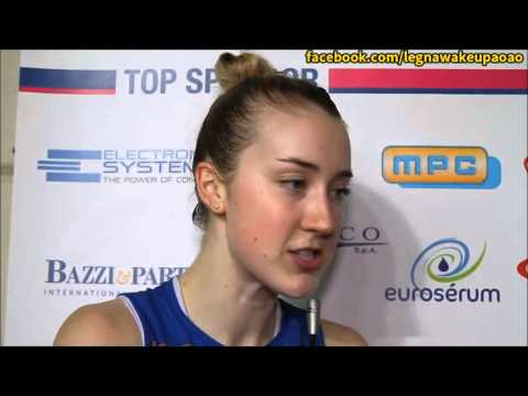 Kimberly Hill in Novara and Sopot Interview Clips