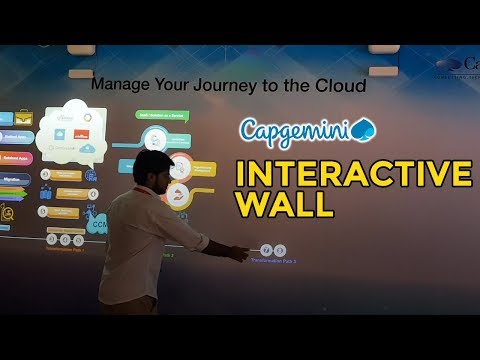 Capgemini | Interactive Wall - Experiential Lab | Cloud Lab