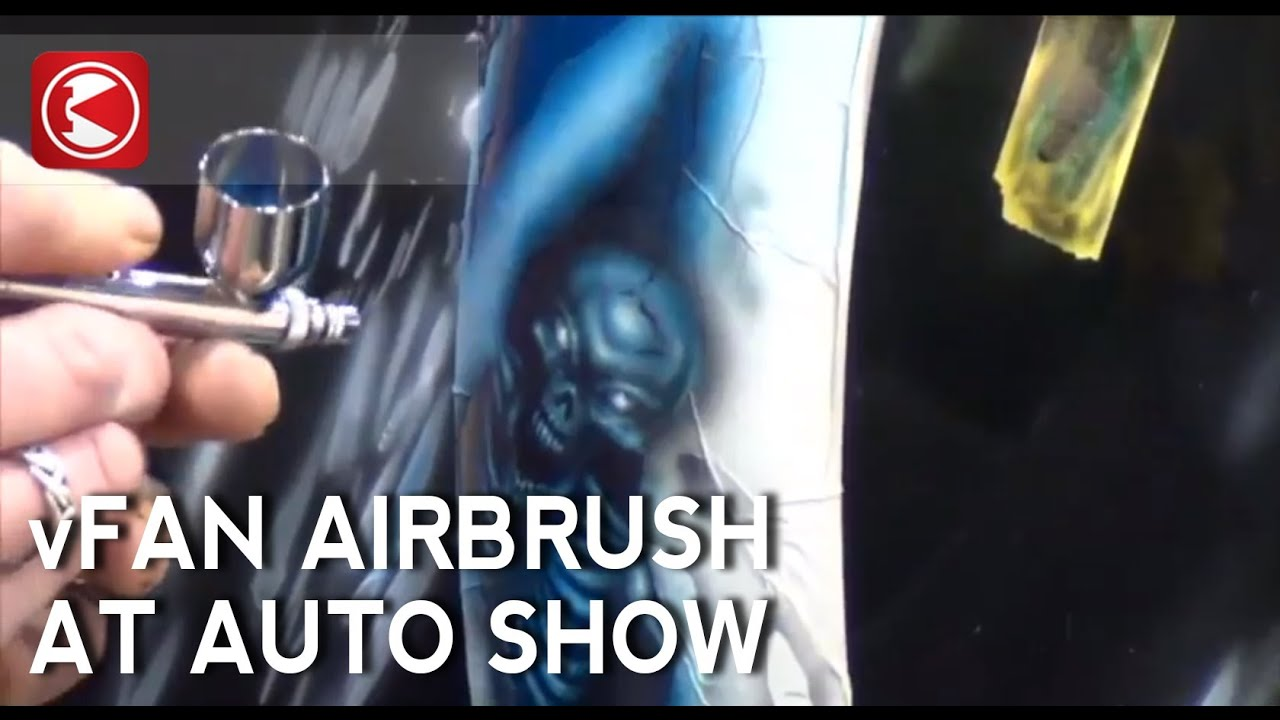 Preval Amazing Auto Airbrush Art