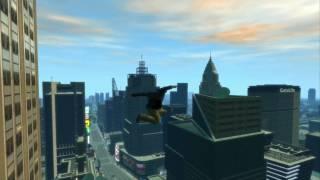 GTA 4 - Skakanie z WTC na dwie nogi
