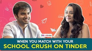 When You Match With Your School Crush On Tinder ft. Ayush Mehra &amp Apoorva Arora RVCJ