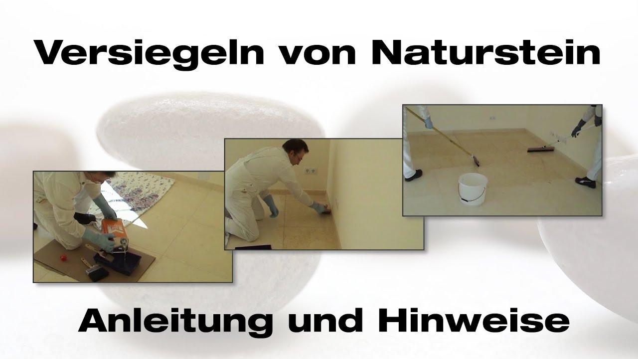 naturstein versiegeln natursteinversiegelung youtube. Black Bedroom Furniture Sets. Home Design Ideas