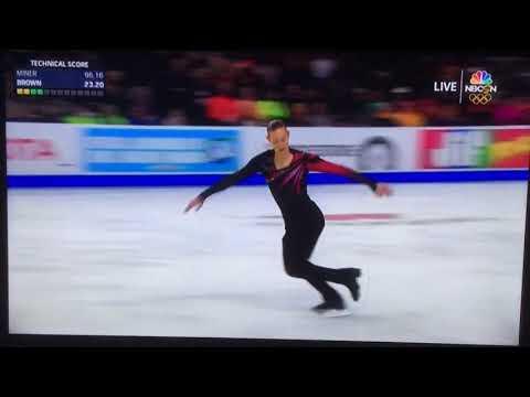 2018 U.S. Figure Skating Jason Brown