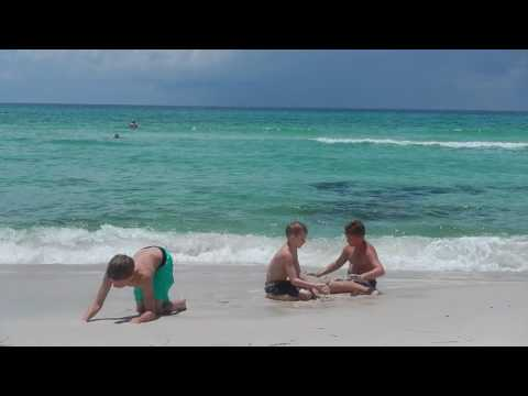 Playing in the Ocean - Seacrest Beach 2016 3