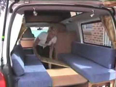 All Seasons Campervans Australian Rv Hi Top Bed Set Up