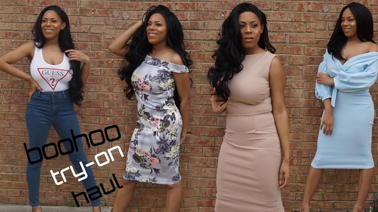7f144c43c3c5 AFFORDABLE SPRING BOOHOO TRY-ON HAUL| LIA LAVON - YouTube