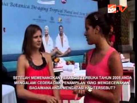 Ana Ivanoic interviewed on Bali Television