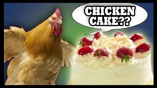 Strawberry Shortcake Filled With Chicken? Merry Christmas!!! - Food Feeder