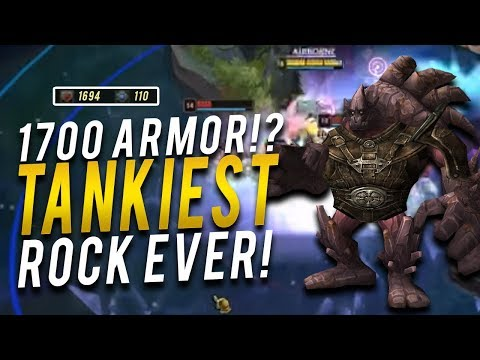 1700 ARMOR MALPHITE = TANKIEST ROCK EVER! | LOSE EARLY WIN LATE EASY - Trick2G