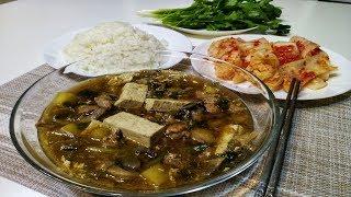 Самый быстрый Корейский суп.СЪЕДАЕТСЯ В МИГ.картошка сварилась...Готово!!!
