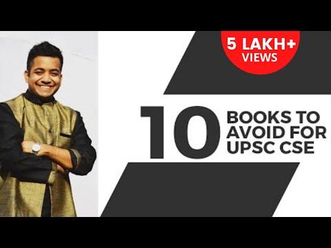 Unacademy - 10 Books to Avoid During UPSC CSE / IAS Preparation by Roman Saini