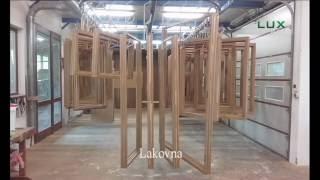 LUXWINDOW - výroba dřevěných oken (eurooken)