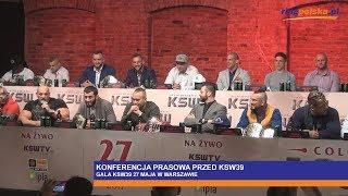 █▬█ █ ▀█▀ KSW39: KONFERENCJA PRASOWA - POPEK, BURNEIKA, KHALIDOV, MAŃKOWSKI, PUDZIANOWSKI, KOWALCZYK 2017 Video