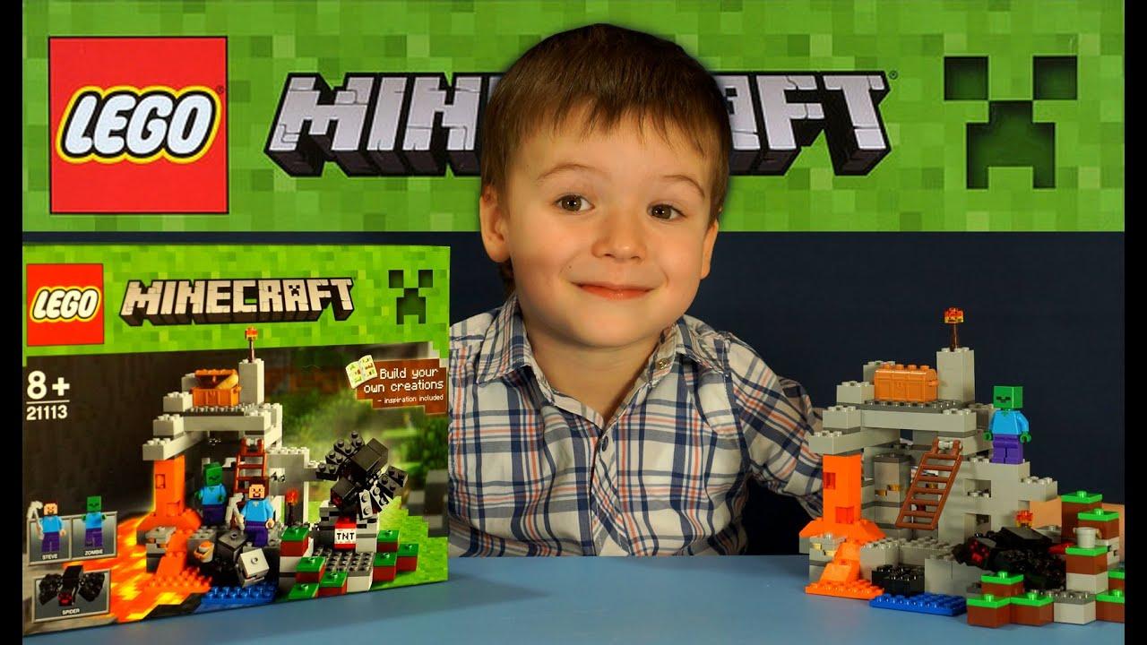 Лего майнкрафт игрушки