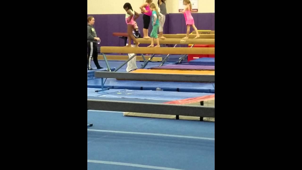 Download Gymnastics training part 2
