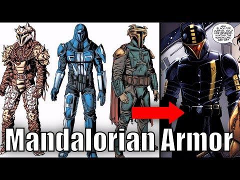 The Evolution of Mandalorian Armor [Legends]