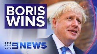 Boris Johnson to become Britain's new Prime Minister | Nine News Australia