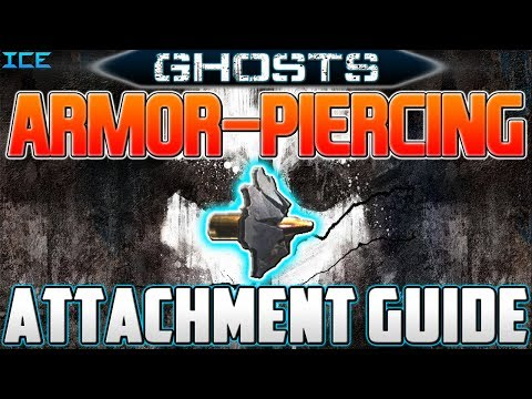 Call Of Duty Ghosts: Armor-Piercing Attachment Guide! (Ghosts Multiplayer Gameplay)