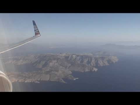 FLIGHT to Rhodes RHO trip report