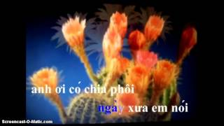 karaoke ngày xưa anh nói, song ca ( có giọng nữ zMz_QuyNh_Mai_zQz)