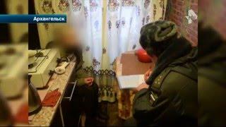 В Архангельске полицейские задержали дебошира, который взял в заложники сына и сожительницу