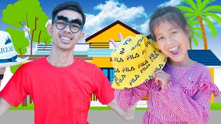 My Hat It Has Three Corners Song | Nora Family Show