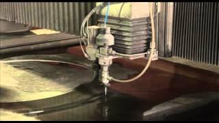 Гидроабразивная резка листового металла до 180 мм от ГК