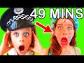 49 MINUTES BEST NEW NN PLAYTOWN Pretend Play Police and Cooking w/ The Norris Nuts