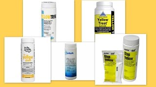 Yellow Algae Removers - Using Sodium Bromide to Treat Mustard Algae