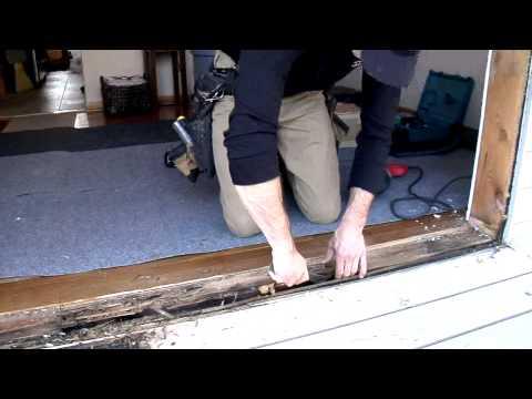 Patio Door Installation Reliabilt Series 300 Sliding