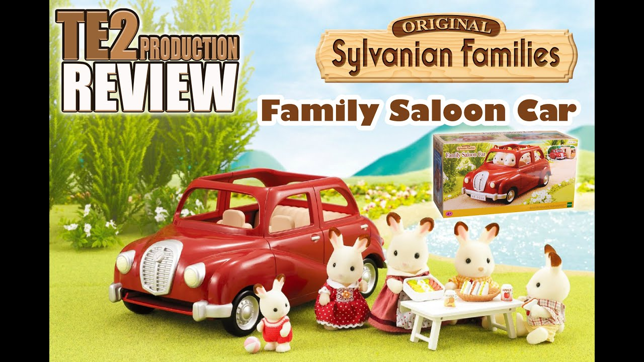 Review Sylvanian Families Voiture Family Saloon Car Youtube
