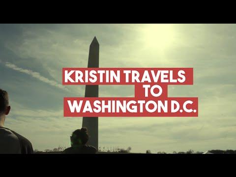 Kristin Travels to Washington DC