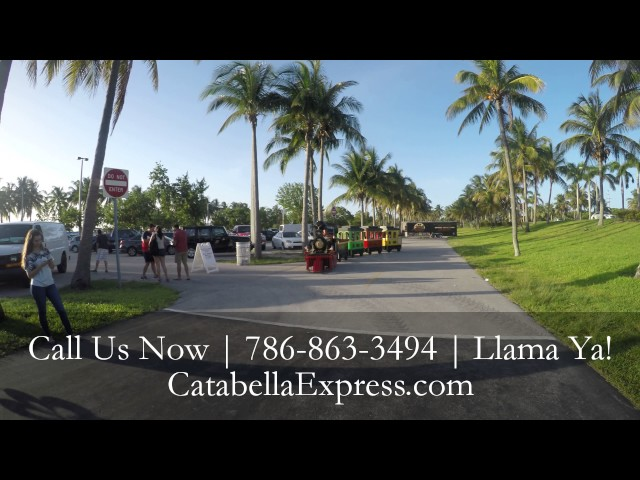Catabella Express Trackless Party Train | Miami | Broward | Palm Beach