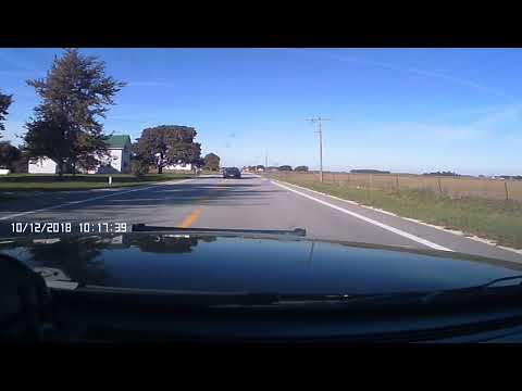 Mercer County, Ohio Pursuit - 3101 Dash Cam