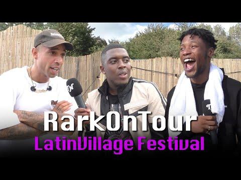 SEVN ALIAS, BIZZEY & CHO over hun festival squad | RarkOnTour: LATIN VILLAGE 2019