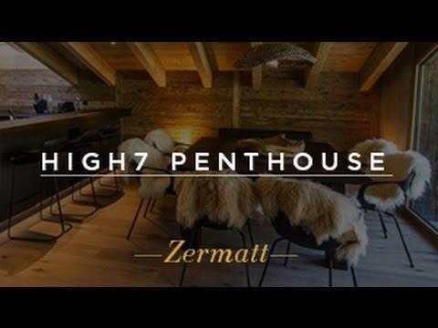 Chalet High Seven Penthouse - Luxury Ski Chalet Zermatt, Switzerland