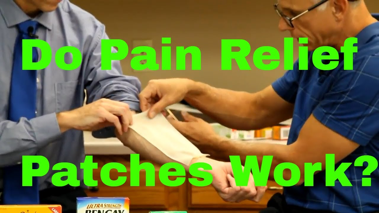 The 5 Best Pain Relieving Patches | Product Reviews and Ratings