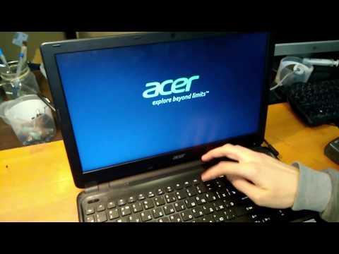 Не работают USB ноутбук Acer Aspire E1-510