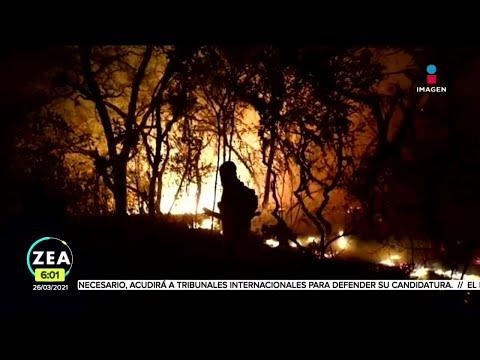 México arde: Conafor reporta 75 incendios forestales activos | Noticias con Francisco Zea